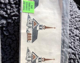 scroll work-pattern 10-501-water mount decals 1970 by the Philadelphia Ceramic Cerami Corner inc decal vintage