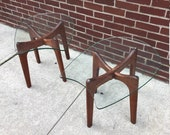 Adrian Pearsall Craft Associates Pair of End Tables- Mint