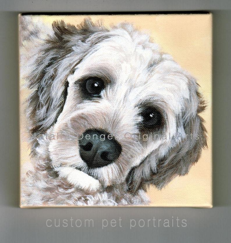 Dog Painting Family Dog Cat Portrait Dog Portrait Special Painting Animal CUSTOM Pet Painting Large Pet Portrait Custom Pet Portrait
