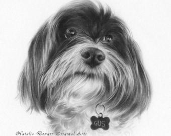 CUSTOM Pet Portrait, Realistic Pet Portrait, Dog Portrait, Cat Portrait, Special Gift, Birthday Gift, Family Gift, Pet Portrait, Christmas