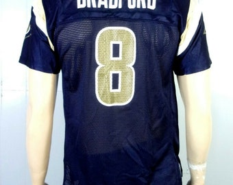 fc61d8773d2 euc Reebok NFL St. Louis LA Los Angeles Rams Jersey Sam Bradford sz Youth XL