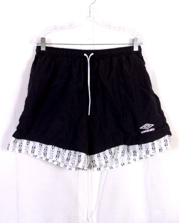 Vintage-mode Vtg 90er Jahre Euc Polo Sport Ralph Lauren Blau Herren Baumwolle Nylon Shorts