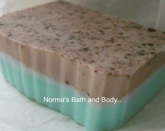 Mint Chocolate Soap- Glycerin Soap- Handmade Soap- Soap- Mint soap- Chocolate Soap- Bar Soap