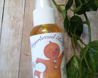 Gingerbread body spray