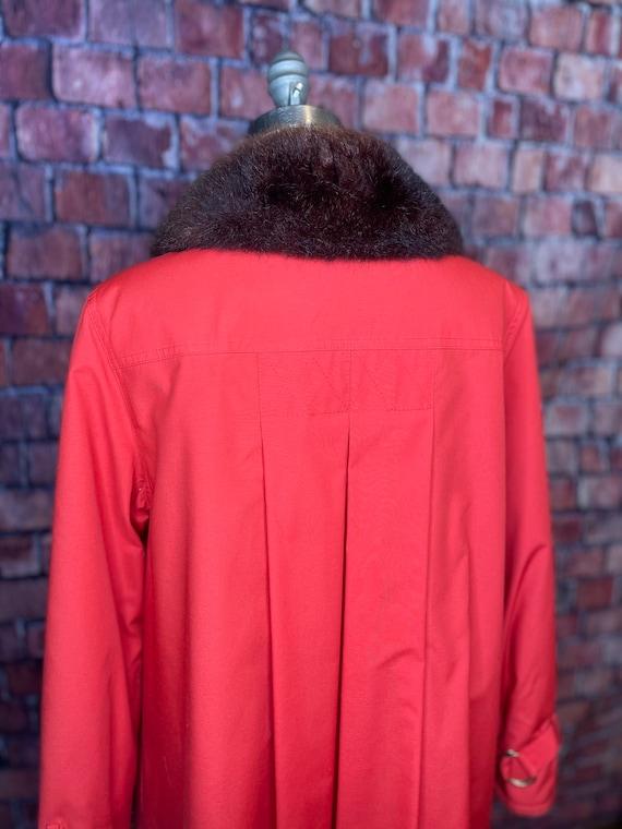 1960s Bonnie Cashin fur lined coat - image 5