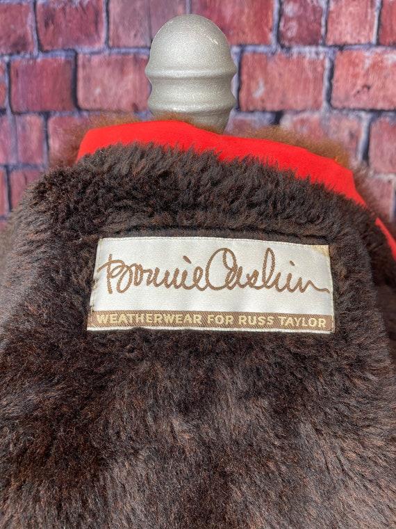 1960s Bonnie Cashin fur lined coat - image 4