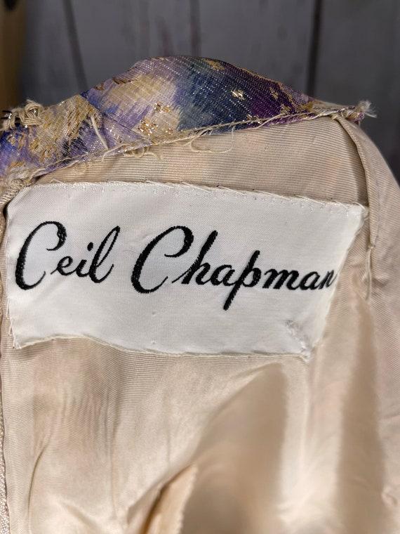 1950s Ceil Chapman dress - image 5