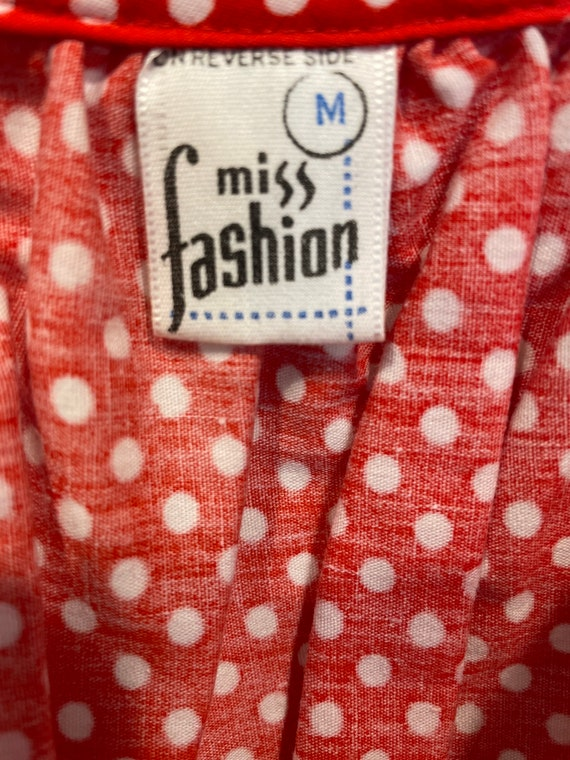 1970s patchwork print maxi dress - image 5