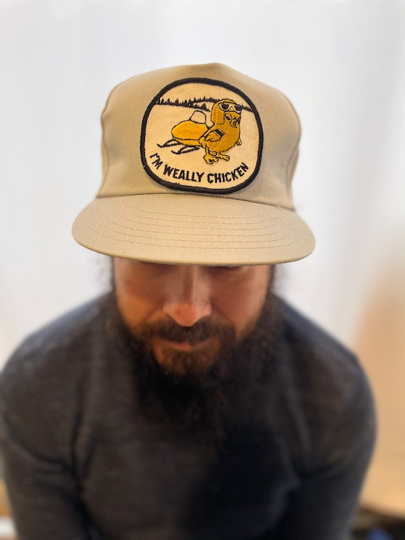 1980s Deadstock trucker hat with 70s patch