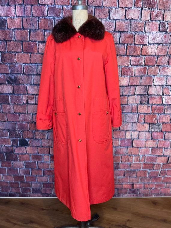 1960s Bonnie Cashin fur lined coat - image 3