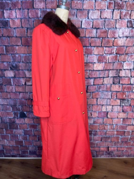1960s Bonnie Cashin fur lined coat - image 1