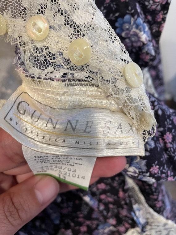 1970s Gunne Sax Dress - image 6