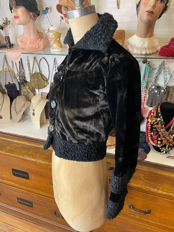 Edwardian cropped jacket - image 3