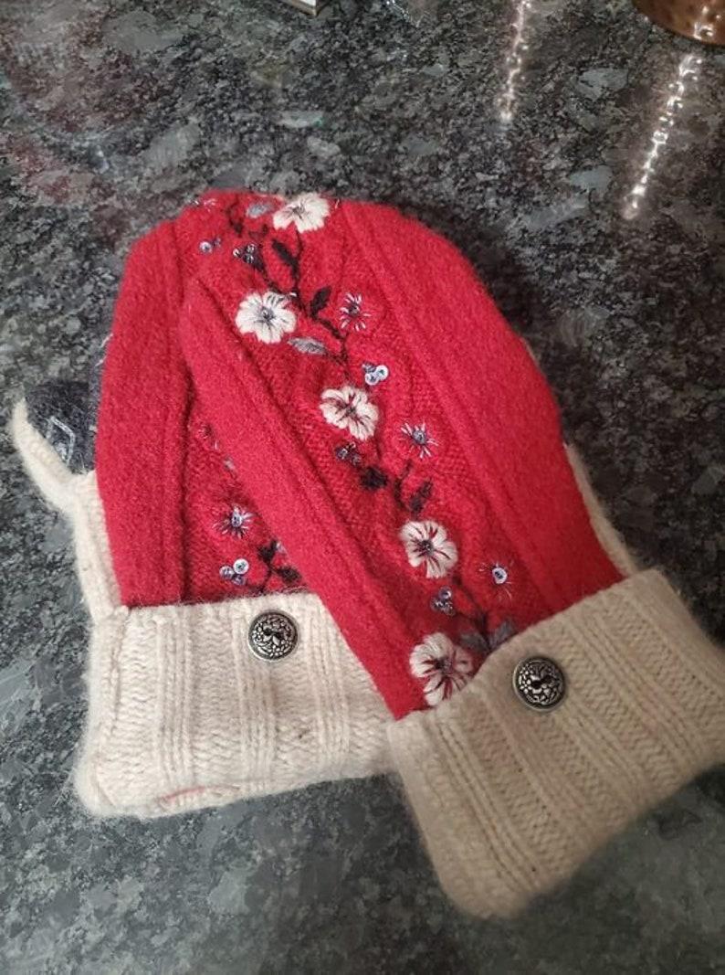 Upcycled Sweater Mitten Pattern AKA Bernie Mittens