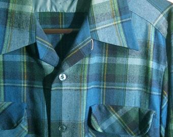Men's Pendleton Board Shirt- L