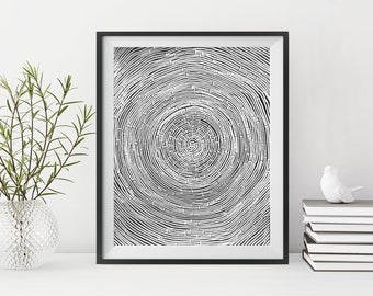 abstract painting on black paper, patterned black and white art, original art, australian art, contemporary art works on paper