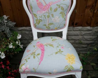 Boudoir chair in Laura Ashley 'Summer Palace '