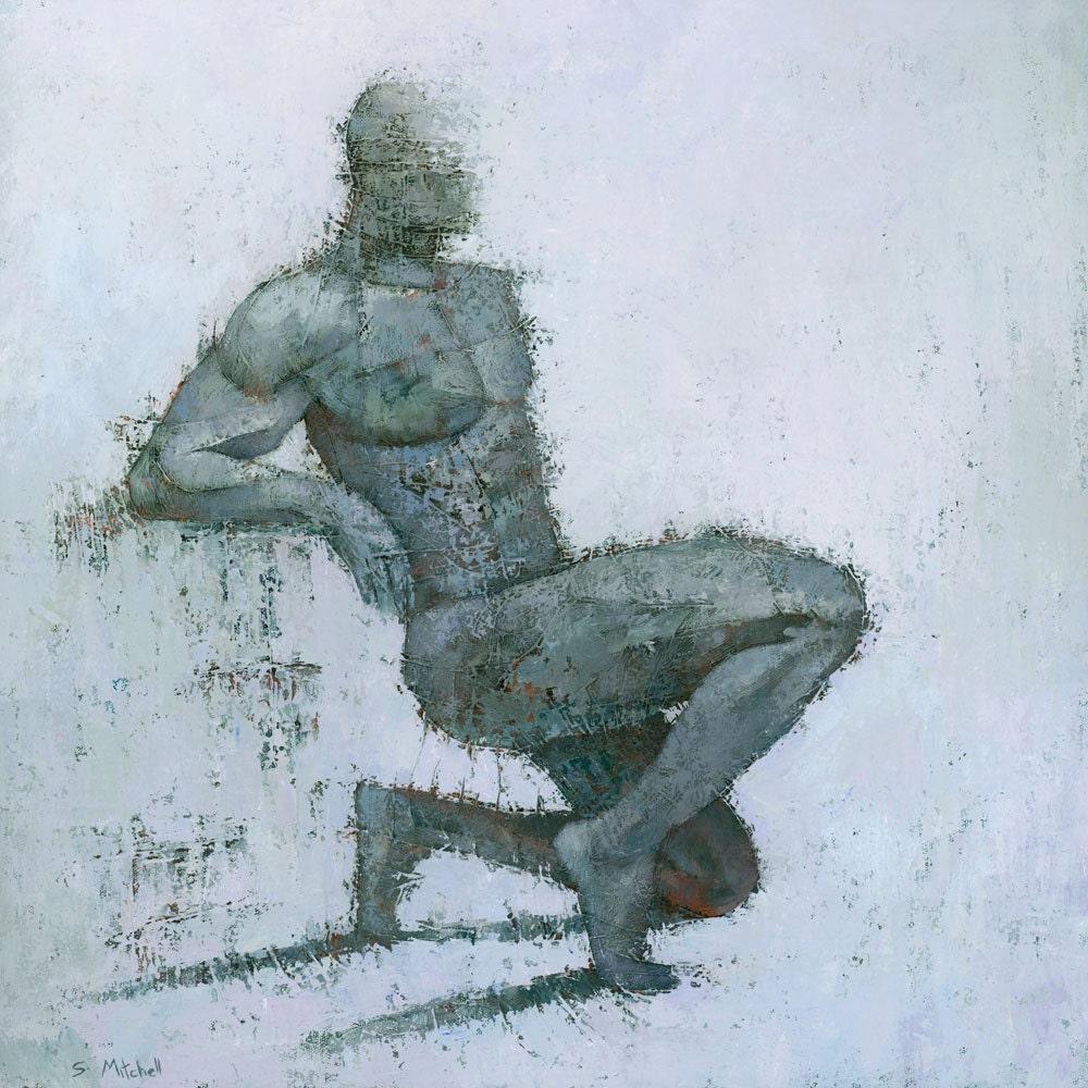Idrium mixed media moderne figuratieve schilderkunst fine for Moderne schilderkunst