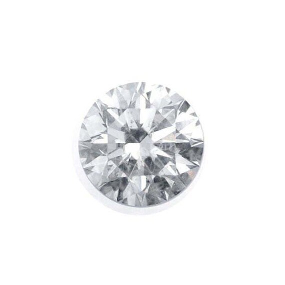 Real Small Natural Loose Diamond Round Cut H Color I1 Clarity 0.05 CT 2.4MM