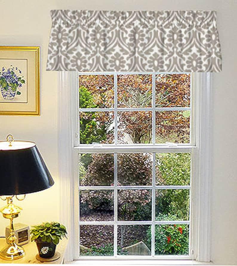 Charmant Kitchen Curtains, Window Valance, Farmhouse Curtains, Valance Curtains,  Kitchen Valance, Farmhouse Valance, Custom Valance, Window Curtains