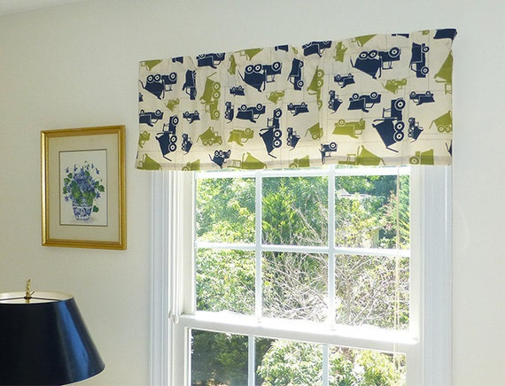 blue window valance navy blue image navy blue window valance curtains etsy