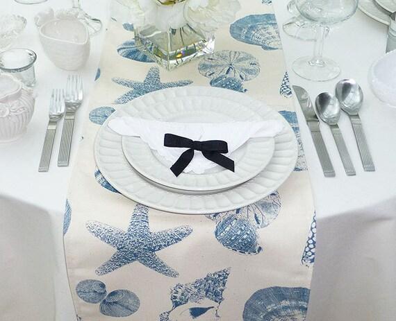 Genial Choose Your Table Runner, Custom Navy Blue Table Runner, Custom Nautical  Table Runner, Beach House Table Linens
