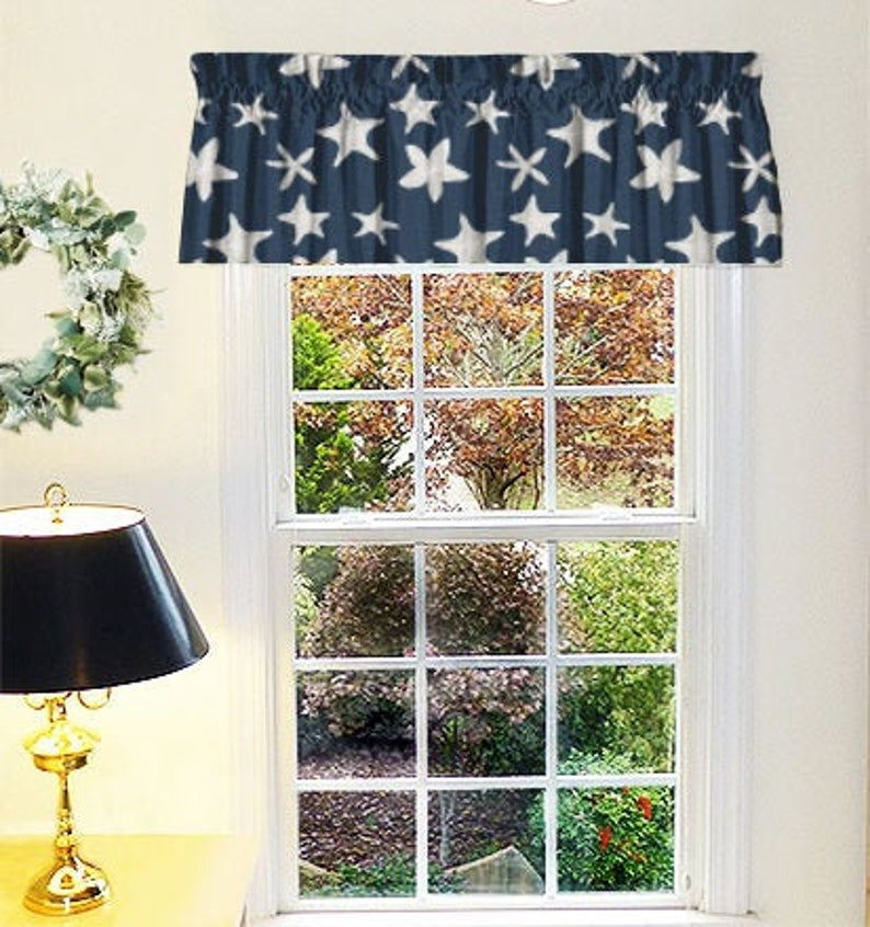 Valence, Kitchen Valances for Windows, Drapery Panels, Window Treatments,  Window Curtains, Custom Size Curtain Panels, Custom Sewing Service