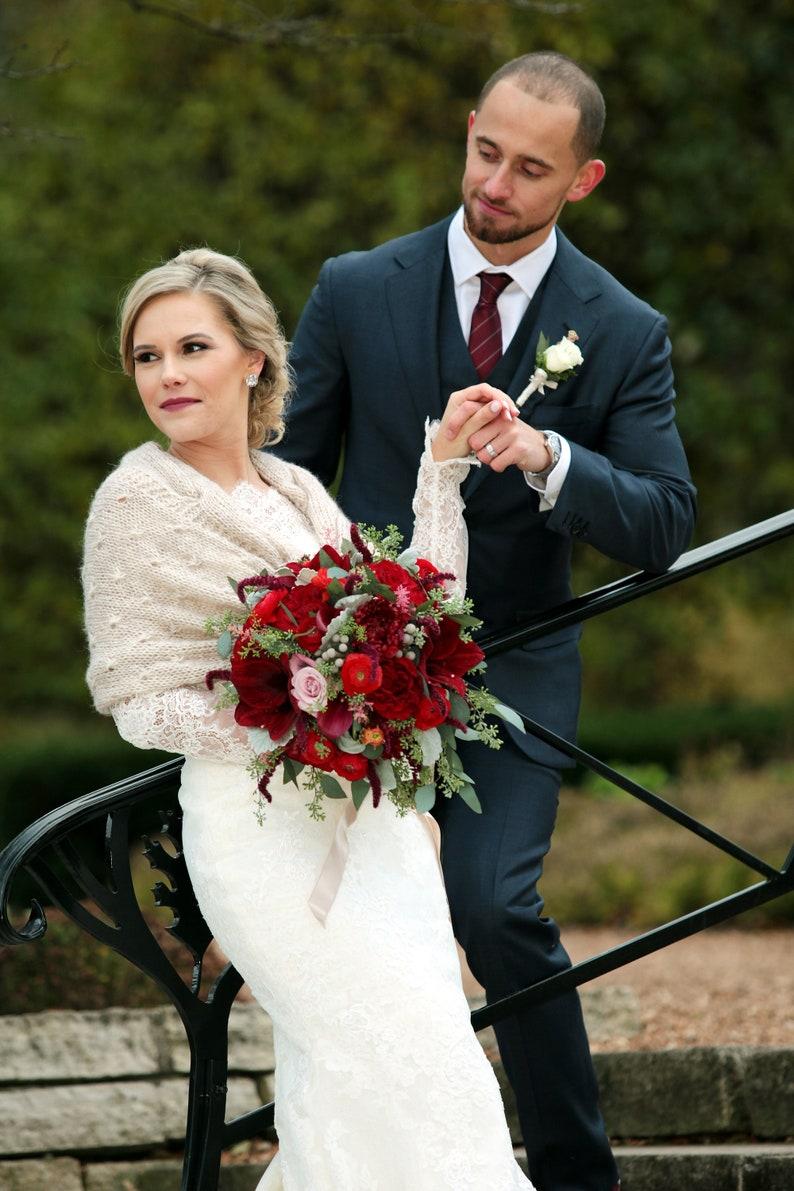 Bridal Shawl Bridal Shrug Wedding Shawl Wraps and image 0