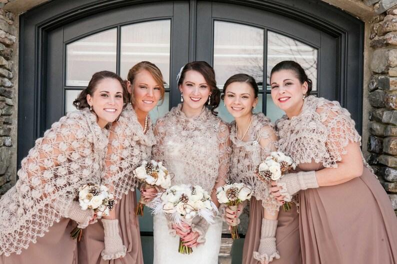 Wedding  Cape Bridesmaid Shawl Bridesmaid wrap Bridesmaid Scarf Gift for her Bridal shawl Bridal Wrap Wedding Shawl Bridesmaid gift