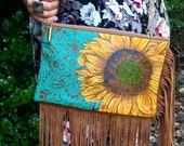 Sunny Day - Hand Painted Purse
