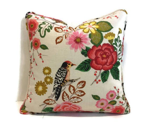 Custom Made Pillow Covers With Trim Or Piping Sewing Service Etsy Enchanting How To Sew A Pillow Cover With Trim