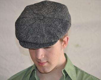 Vintage Newsboy Cap. Men s Wool Hat  Cap f9bf4496a44d