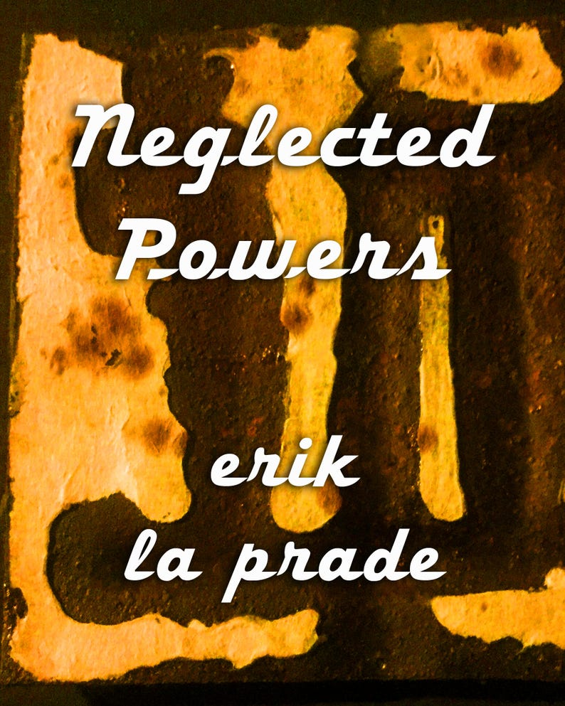 Neglected Powers: poems image 0