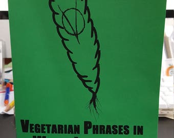 Vegetarian Phrases in World Languages ZINE
