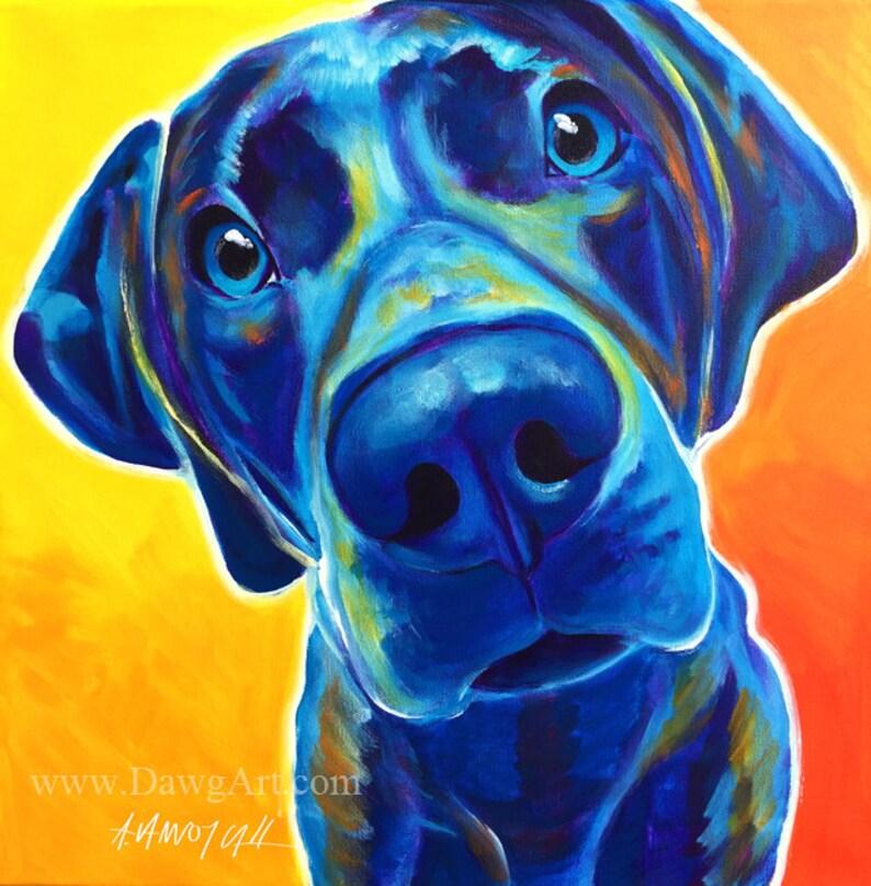 5564e9b2c85 Weimaraner Pet Portrait DawgArt Dog Art Pet Portrait
