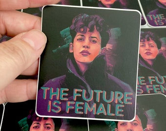3 Pack of Future is Female Vinyl Stickers or Mix & Match