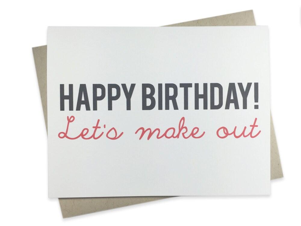 Funny Birthday Card Boyfriend Girlfriend