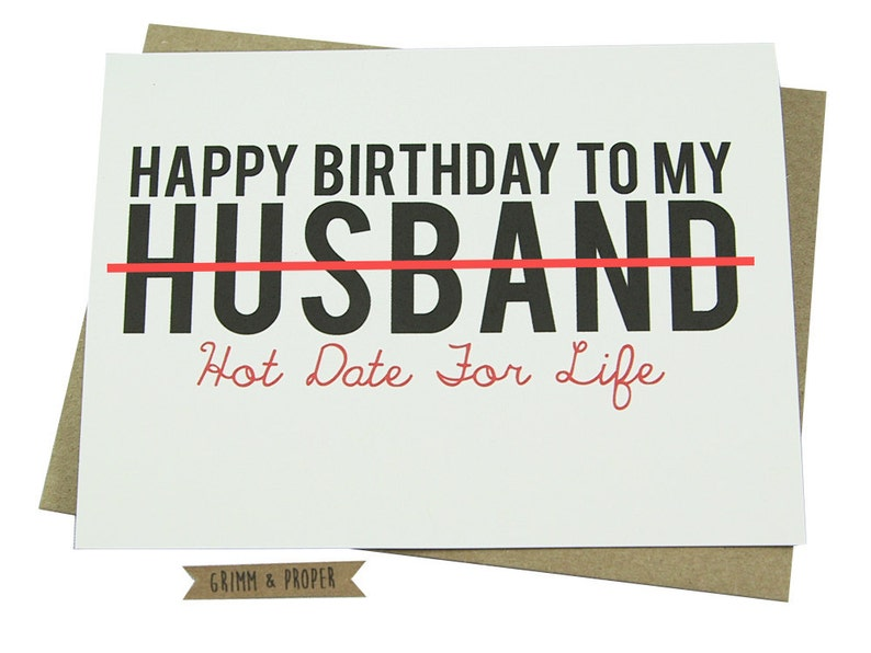 Husband Birthday Card Loving Funny For Him Hot Sexy
