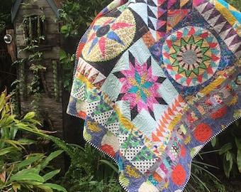 Tropicana quilt pattern