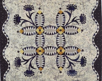 Pickled Lillies quilt pattern