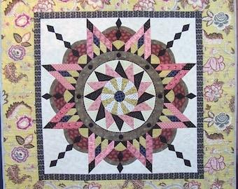 PDF pattern for Jacobean Star quilt