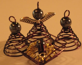 Wire Wrapped Nativity Scene MADE to ORDER