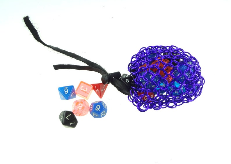 Dice Bag For Dungeons And Dragons Pathfinder Or Warhammer 40K image 0