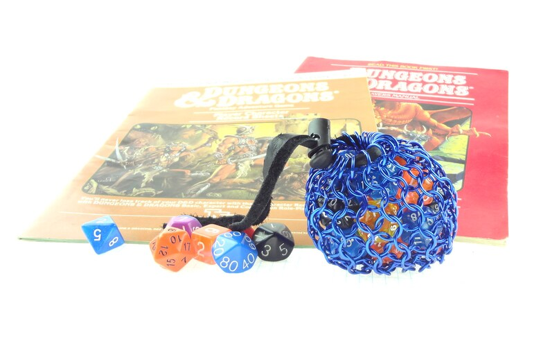 Chainmail Dice Bag For Dungeons And Dragons Or Warhammer 40K image 0