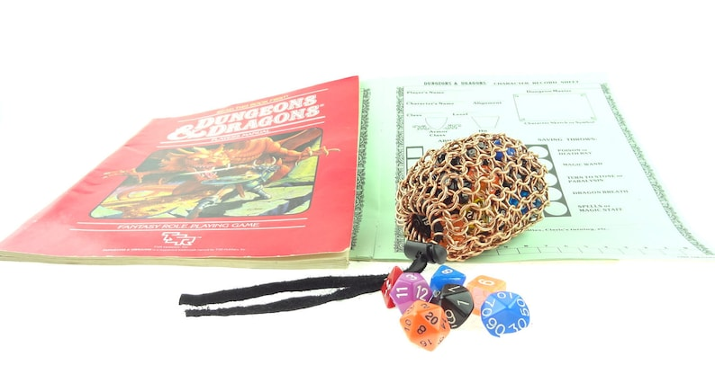 Dungeons And Dragons Dice Bag  Heavy Copper  Magic The image 0