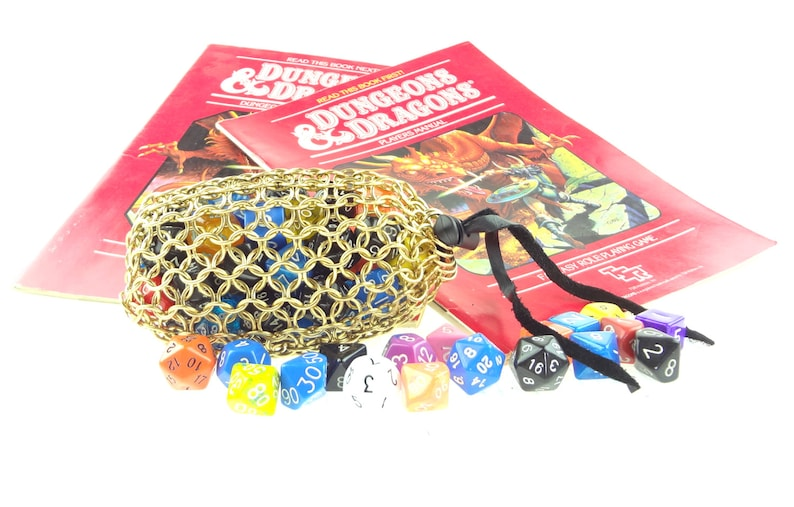 Dungeons And Dragons Heavy Brass Dice Bag  Magic The image 0