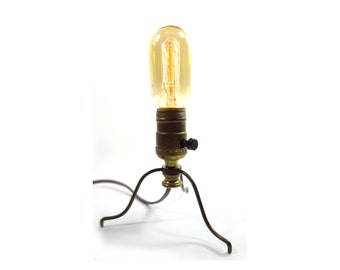 Industrial Lighting Steampunk Lamp With Reproduction Edison Bulb
