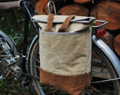 convertible tote, pannier, backpack, cycling bag