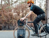 Highlands panniers // front touring panniers,  small commuter panniers