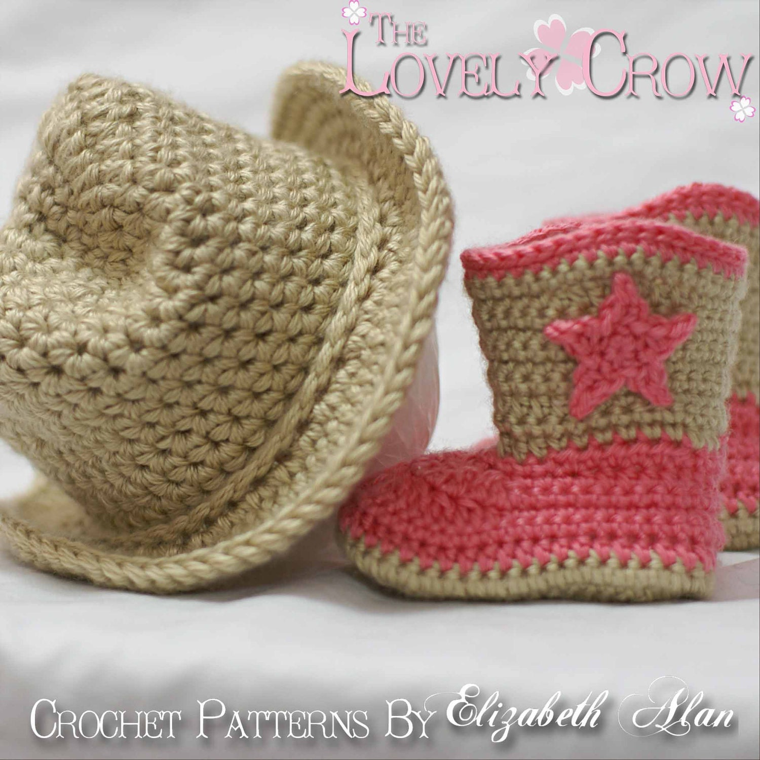 Cowboy Crochet Patterns. Includes patterns for Boot Scoot\'n Boots ...